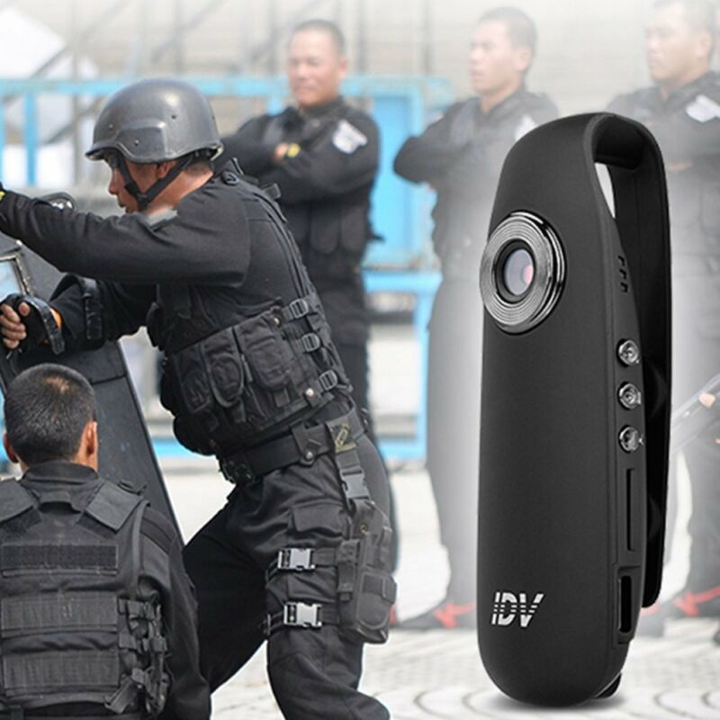 HD 1080P 130°Mini Camcorder Dash Cam Police Body Motorcycle Bike Motion Camera Back Mounted Camera 1