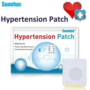 6/24pcs Hypertension Patch Herbal Reduce High Blood Pressure Clean Blood Vessel Plaster  Hypertension Care Products 1